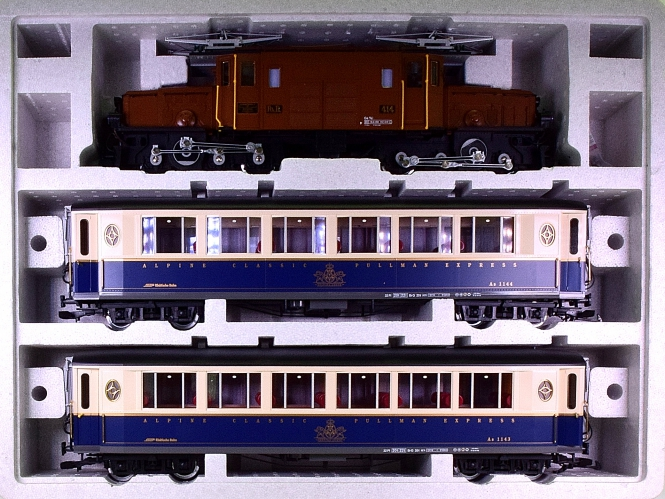 LGB 70640 (G/IIm) – RhB-Set -Alpine Classic-, digital + Sound + Innenbeleuchtung