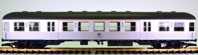 Piko 37630 (G/IIm) – 1./2. Klasse Nahverkehrswagen Silberling der DB