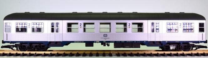 Piko 37631 (G/IIm) – 2. Klasse Nahverkehrswagen Silberling der DB