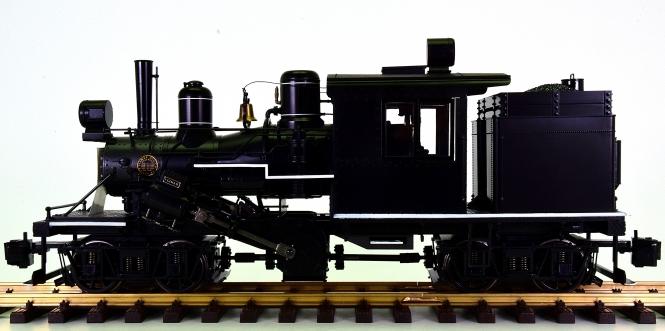Bachmann 86097 (G/IIm) - Two Truck Climax Locomotive, digital + Sound + Rauch