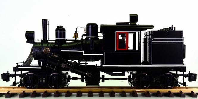 Bachmann 85098 (G/IIm) - Two Truck Climax Locomotive, Rauch