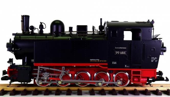LGB 20482 (G/IIm) - Tender-Dampflok BR 99 der (D)DR, digital + Sound + Rauch