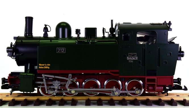 LGB 20481 (G/IIm) - Tender-Dampflok VI K der S.St.E., digital + Sound + Rauch