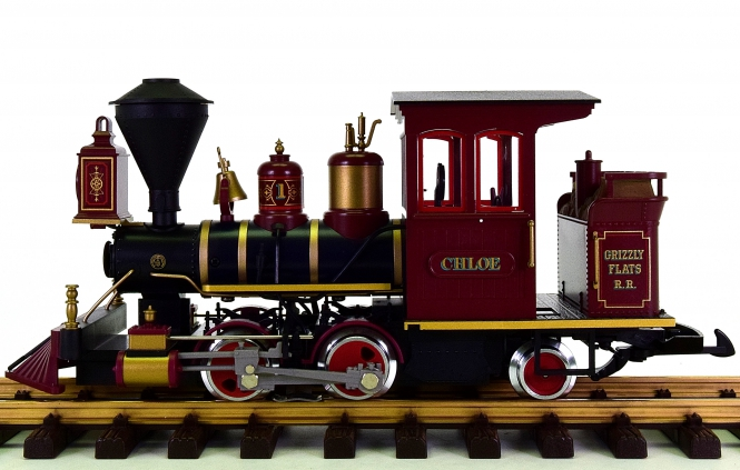 LGB 23131 (G/IIm) - Grizzly Flats Dampflokomotive CHLOE