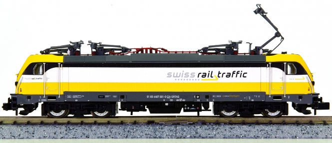 Arnold HN2341 – Mehrsystem-Elektrolok BR 487 der Swiss Rail Traffic (SRT)