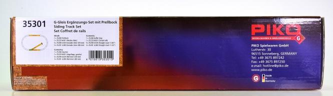 Piko 35301 (G/IIm) - Gleis Ergänzungs-Set mit Prellbock