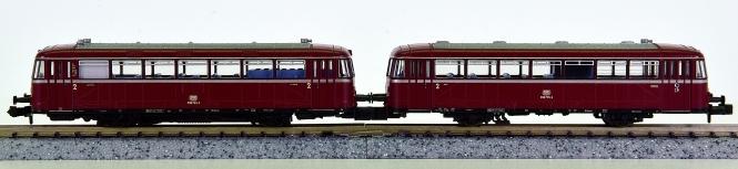 Piko 40250 (N) - 2-tlg. Schienenbus BR 798 der DB, mit Innenbeleuchtung