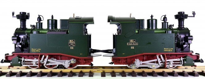 LGB 20990 (G/IIm) - Doppellok BR II K der K.Sächs.Sts.E.B.
