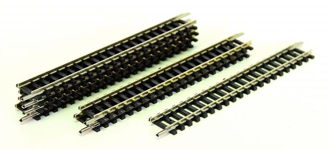 Minitrix 14904 – 7 gerade Gleise, Länge je Gleis 104,2 mm