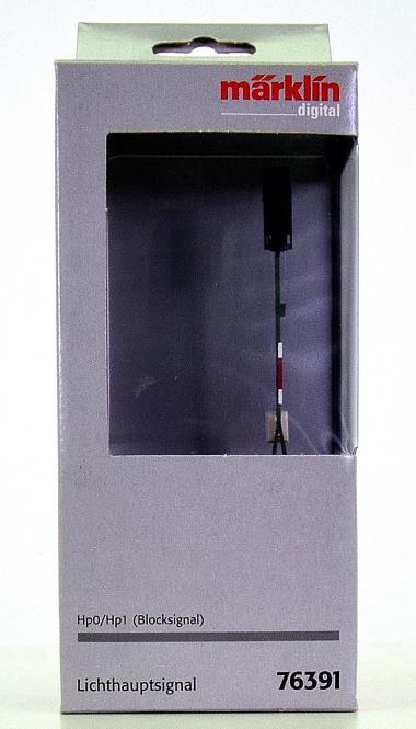 Märklin 76391 - Lichthauptsignal (Blocksignal), Hp0 und Hp1