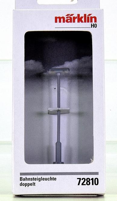 Märklin 72810 - LED-Bahnsteigleuchte doppelt