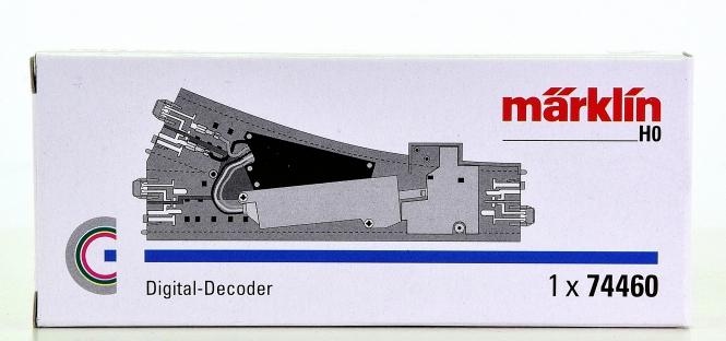 Märklin 74460 – Einbau-Digital-Decoder für C-Gleis-Weichen