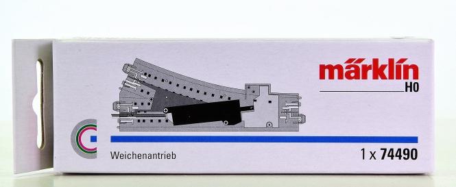 Märklin 74490 – Elektrischer Weichenantrieb für C-Gleis-Weichen