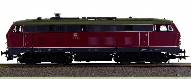 ESU 31020 – Mehrzweck-Diesellok BR 215 der DB, digital + Sound