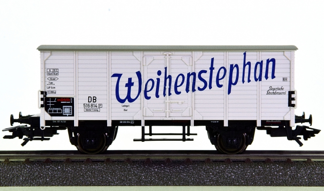 Märklin 48166 – Bierwagen Weihenstephan der DB, Insider-Wagen 2016