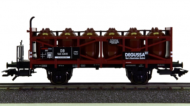 Märklin 48162 – Säurebehälterwagen DEGUSSA der DB