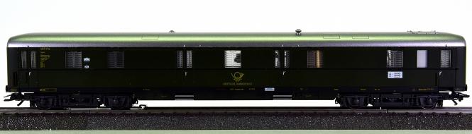 Märklin 49962 - Geräuschwagen für Lokomotiven / Postwagen der DB, mfx + Sound