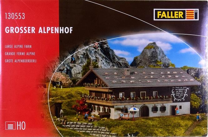 Faller 130553 – Bausatz Großer Alpenhof