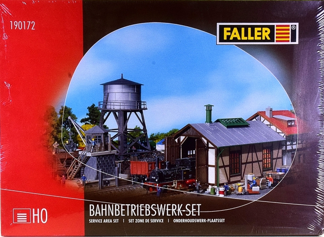 Faller 190172 – Bausatz Bahnbetriebswerk-Set