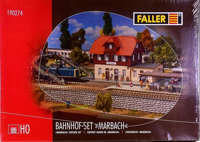 Faller 190274 – Bausatz Bahnhof-Set Marbach