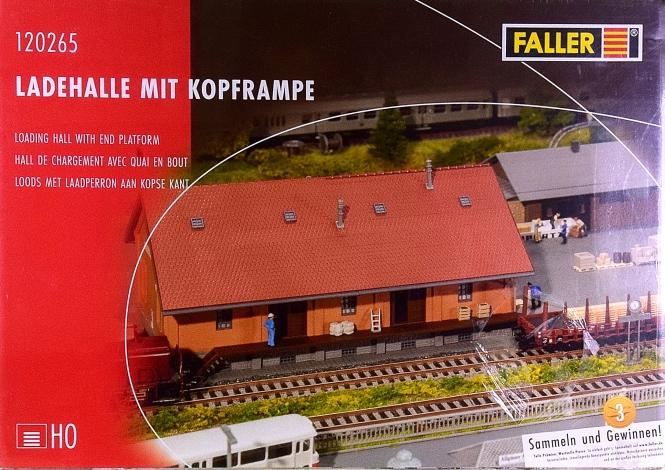 Faller 120265 – Bausatz Ladehalle mit Kopframpe