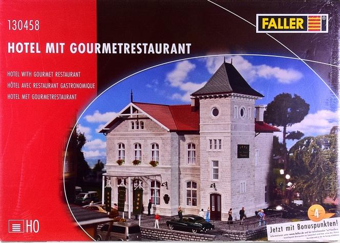 Faller 130458 – Bausatz Hotel mit Gourmetrestaurant