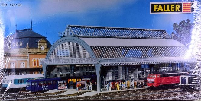 Faller 120199 – Bausatz Bahnsteighalle, 3-gleisig
