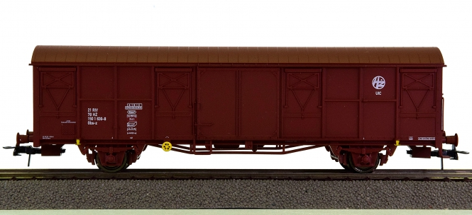 Heris 17502 - gedeckter Güterwagen Gbs-z der Kroatischen Bahnen (HZ)