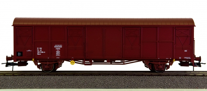 Heris 17503 - gedeckter Güterwagen Gbs-z der Jugoslawischen Staatsbahn (JZ)