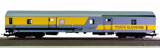 Sachsenmodelle 74548 - Bahnpostwagen der Slovenischen Post, eing. bei der SZ