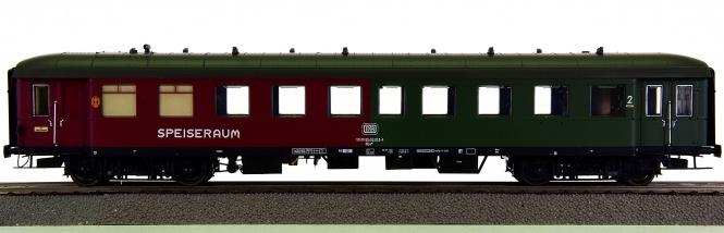 ESU Pullman 36104 – 2. Klasse Eilzugwagen / Halbspeisewagen Brye der DB
