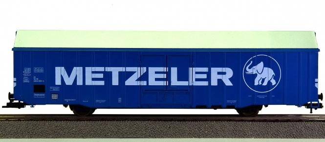 Fleischmann 5379 K - Großraumgüterwagen -Metzeler- der DB