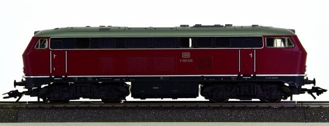 Märklin 37744 – Mehrzweck-Diesellok BR V 160 der DB, digital (mfx) + Sound