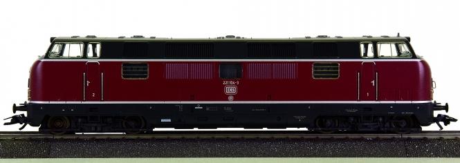Märklin 39821 – Mehrzweck-Diesellok BR 221 der DB, digital (MM) + Sound