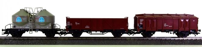 Märklin 29811 - 3-teiliges Güterwagen-Set der DB