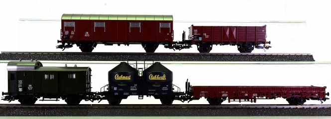 Märklin 29625 - 5-teiliges Güterwagen-Set der DB