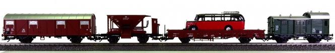 Märklin 29854 - 4-teiliges Güterwagen-Set der DB