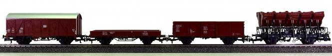 Märklin 29530 - 4-teiliges Güterwagen-Set der DB