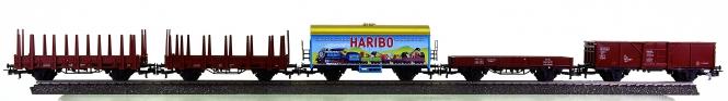 Märklin - 5-teiliges Güterwagen-Set der DB, aus Packung 29165 und 29185