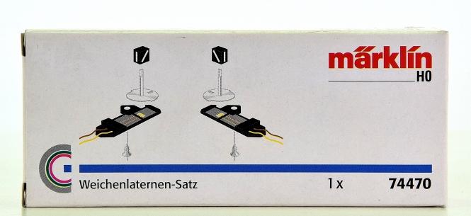 Märklin 74470 – Weichenlaternensatz für C-Gleis-Weichen