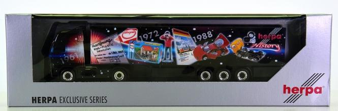 Herpa 196932 – Volvo FH XL Koffer-Sattelzug -HCC LKW 2003-