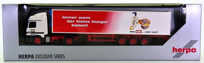Herpa 261258 – MB Actros LH Kühlkoffer-Sattelzug -Culina / Müller Milch-
