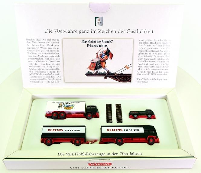 Wiking (1:90) - Die Veltins-Fahrzeuge in den 70er-Jahren