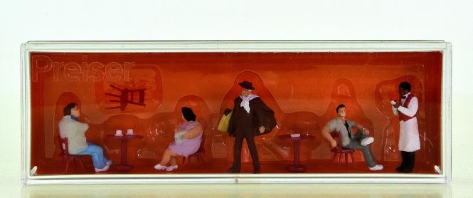 Preiser 10368 – Touristen, Kellner, Kunstmaler