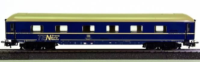 Märklin 4010 - TEN-Schnellzug-Schlafwagen der DB, Primex-Modell