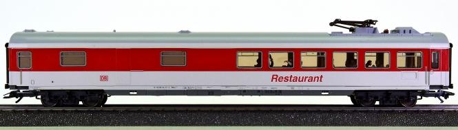 Märklin 42971 – InterCity-Speisewagen WRmz 135.0 der DB AG, Reisende