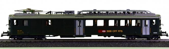 HAG 152 (AC) – Elektro-Triebwagen BDe 4/4 der SBB, mit Innenbeleuchtung