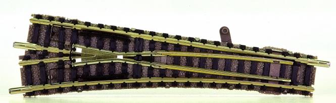 Fleischmann 9178 (N) – Weiche links, mit stromleitendem Herzstück