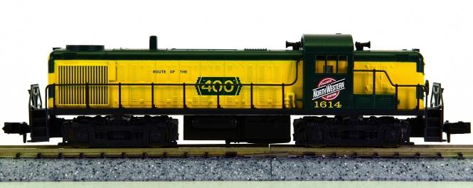 Atlas 42005 (N) – Diesellok Alco RS-3 der Chicago & Northwestern (CNW)