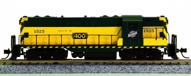 Atlas 48015 (N) – Diesellok GP-7 der Chicago & Northwestern (CNW)